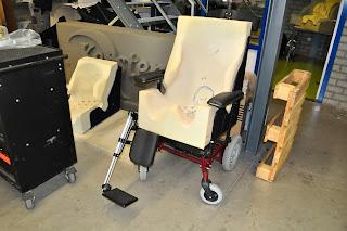 Gracias al escáner 3d EVA se obtiene una silla adaptada