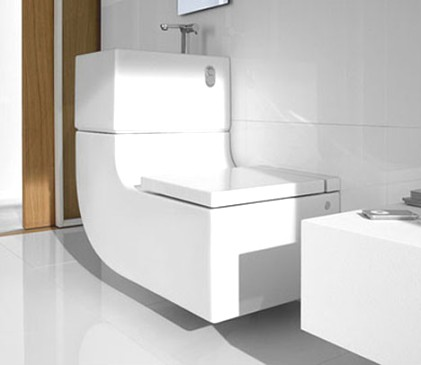 Cool Toilet By Roca