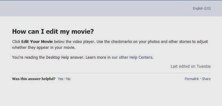 """FaceBook sẽ có khả năng chỉnh sửa hình ảnh trong video Facebook """"Look Back"""" của bạn"""