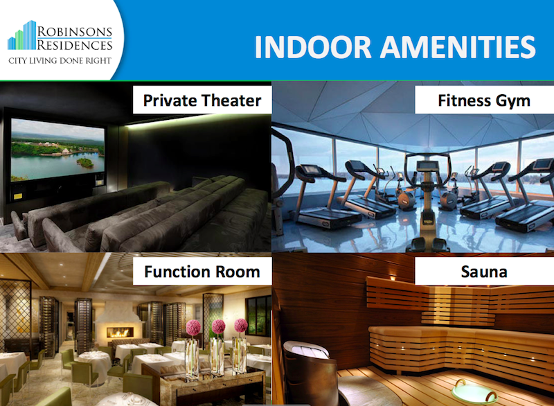 Delta Residences Davao - Indoor Amenities