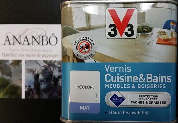 Vernis conseillé pour la protection de vos papiers peints Ananbô