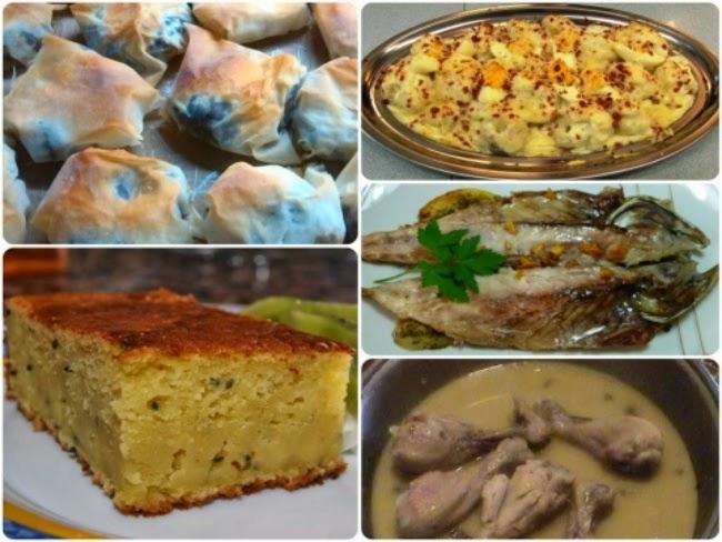 Menú con cinco recetas nº 14