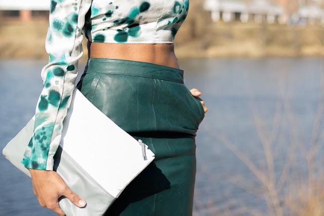 The Daileigh: The Leather Skirt