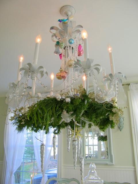 maison decor christmas chandelier