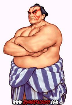 Personagem Honda-Street-Fighter - HumorTaLouco.com