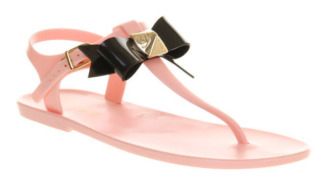 Ted Baker - Scented sandals - Jelly shoes - bowed sandals - summer