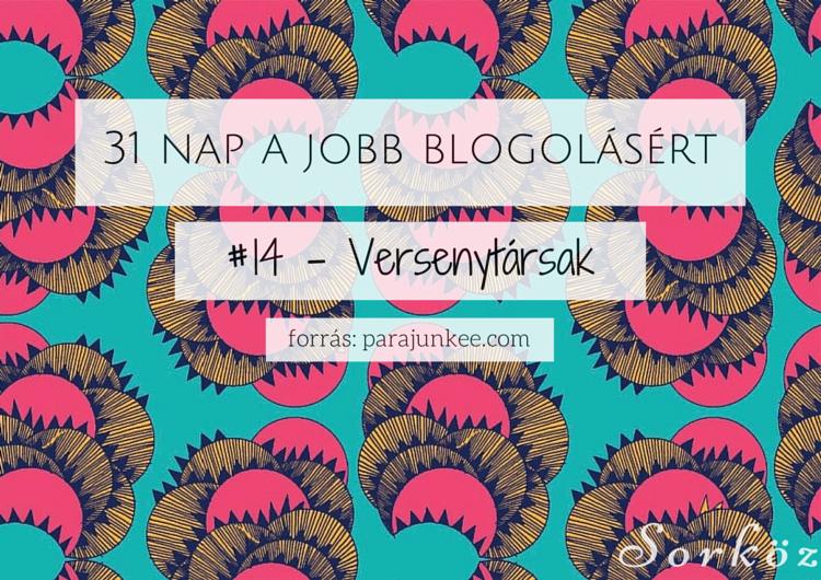 31 nap a jobb blogolásért #14 - Versenytársak