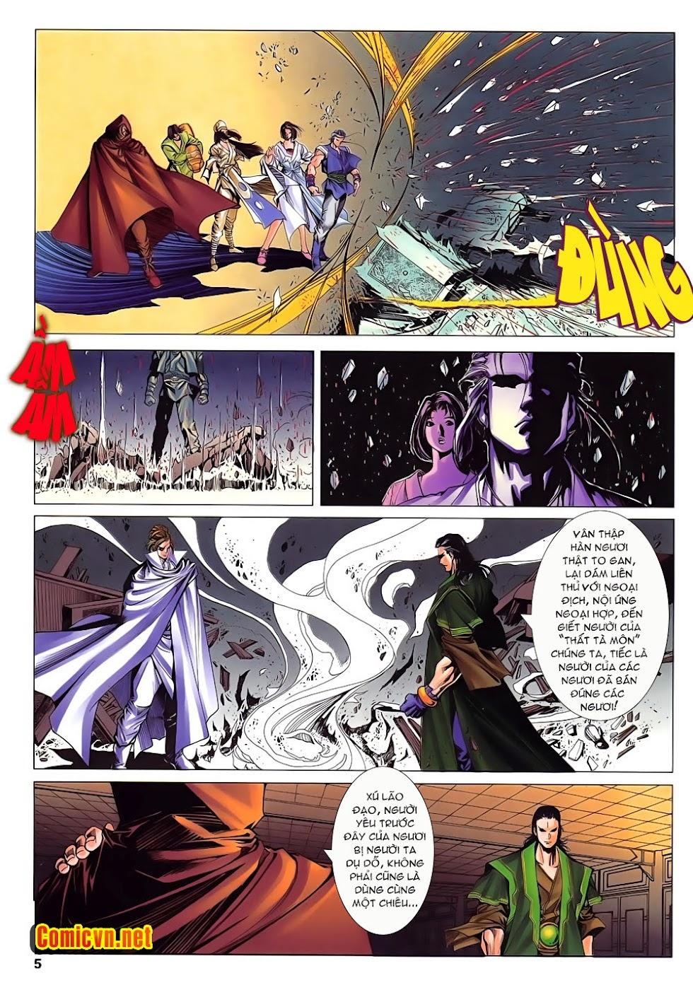 Lục Đạo Thiên Thư chap 15 - Trang 5