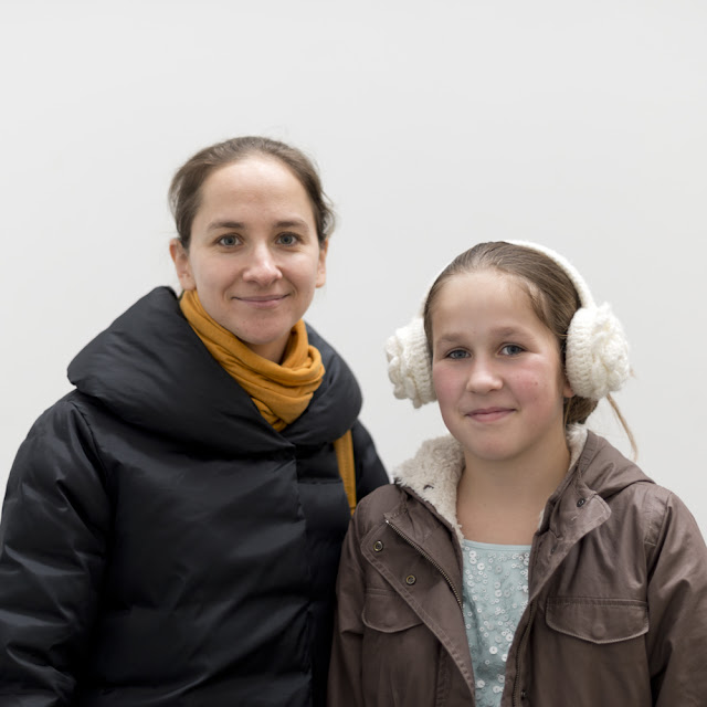 Irina and Anna Gostimskaya