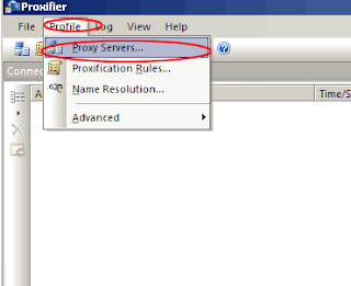 "Muncul dialog ""Do you want Proxifier to use this proxy default?"" pilih"