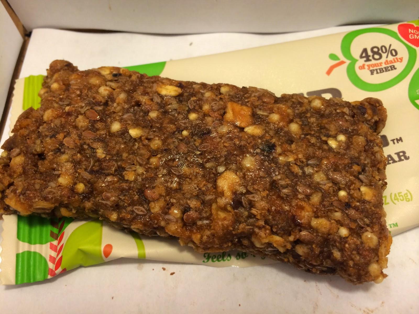 Crazy Food Dude Review Gnu Foods Fiber Love Apple