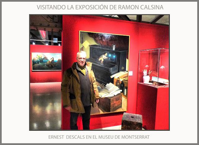MUSEU-MONTSERRAT-RAMON CALSINA-EXPOSICIO-PINTURA-HOMENATGE-PINTORS-CATALUNYA-FOTOS-ARTISTA-PINTOR-ERNEST DESCALS-