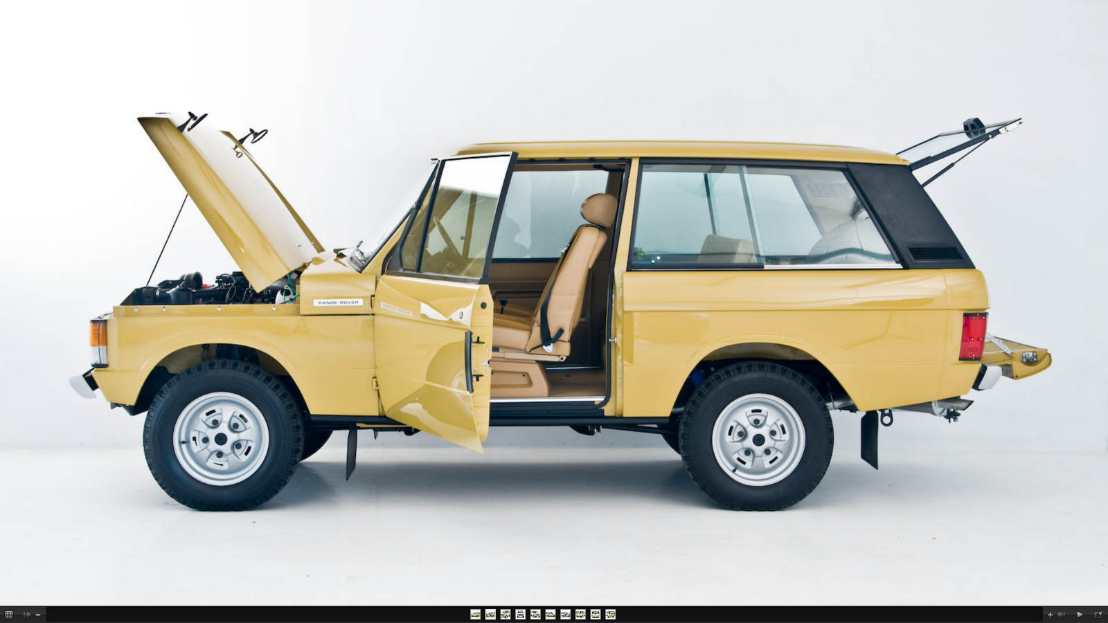Range Rover The First Generation Range Rover Europe 1976