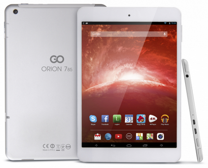 GoClever Orion 785 Android Tablet from Europe