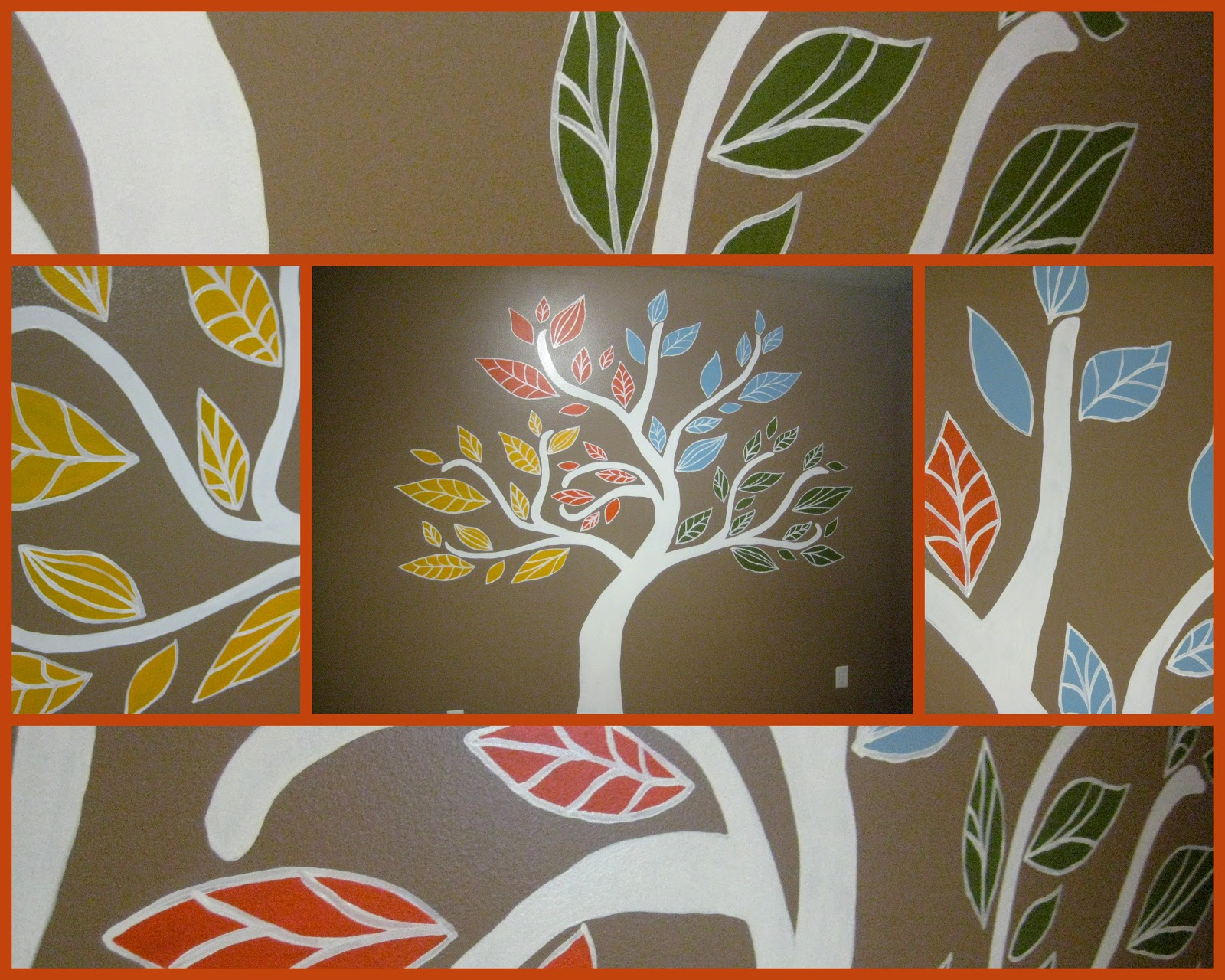cobo four seasons tree mural For4 Seasons Mural