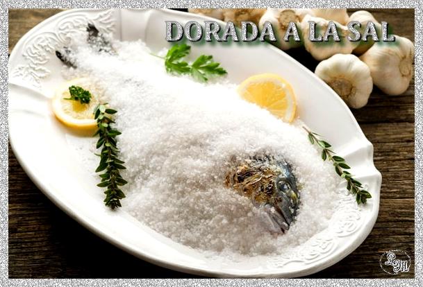 Receta de pescado al microondas dorada a la sal dietas - Calorias arroz a la cubana ...