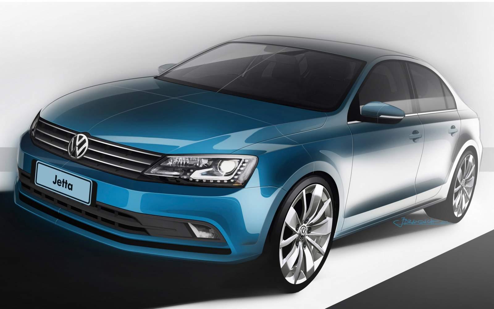Novo VW Jetta 2015