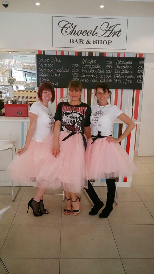 Rózsaszín Dollyi tüllszoknyák