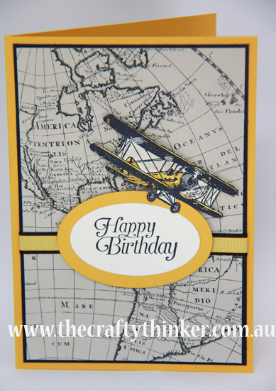 SU, Going Global DSP, Masculine card, handmade card