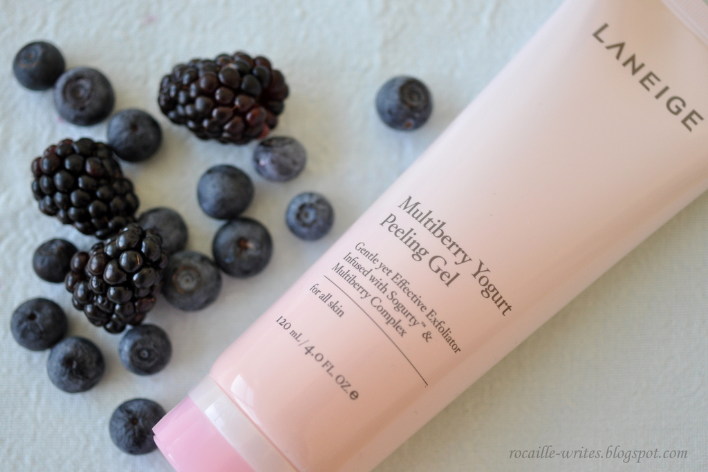 Exfoliation for Dry & Sensitive Skin: Laneige Multiberry Yogurt Peeling Gel*