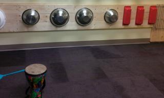 bowls, drum