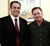 No dia 8/10/2015 Sérgio se reune com o Governador Paulo Câmara em Recife/PE