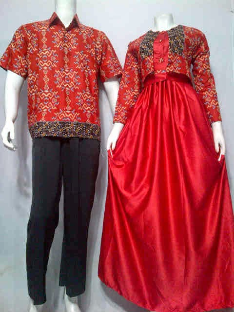 Model Baju Gamis Batik Muslim Batik Bagoes Solo