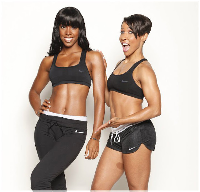 You Too Can Have Abs Like Kelly Rowland!