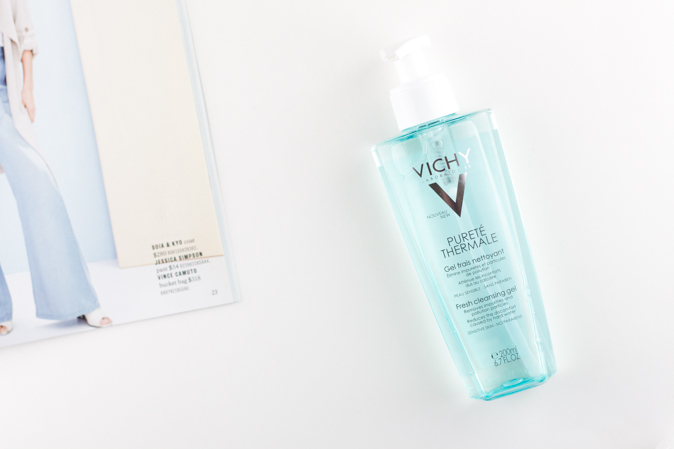 vichy purete thermale fresh cleansing gel review