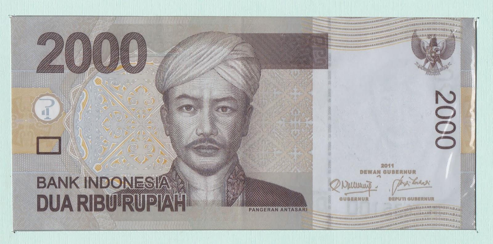 KOLEKSI UANG KERTAS & KOIN DALAM & LUAR NEGERI: Uang 2000 ...