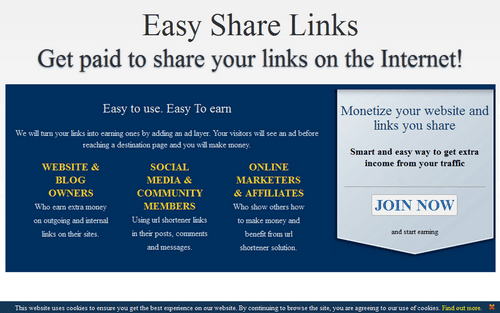 Easysharelinks.blogspot.com home page