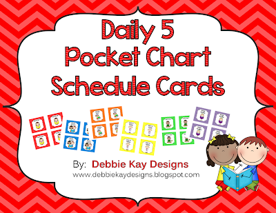 https://www.teacherspayteachers.com/Product/Daily-5-Pocket-Chart-Schedule-Cards-Daily-Five-1289099