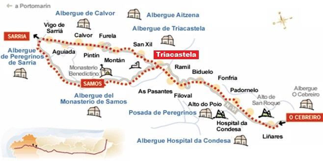 Francisco fari a ii camino de santiago 2015 triacastela for Ruta del mueble sarria