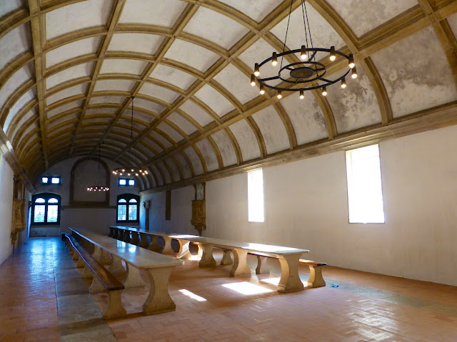 Antiguo refectorio del Convento de Cristo en Tomar