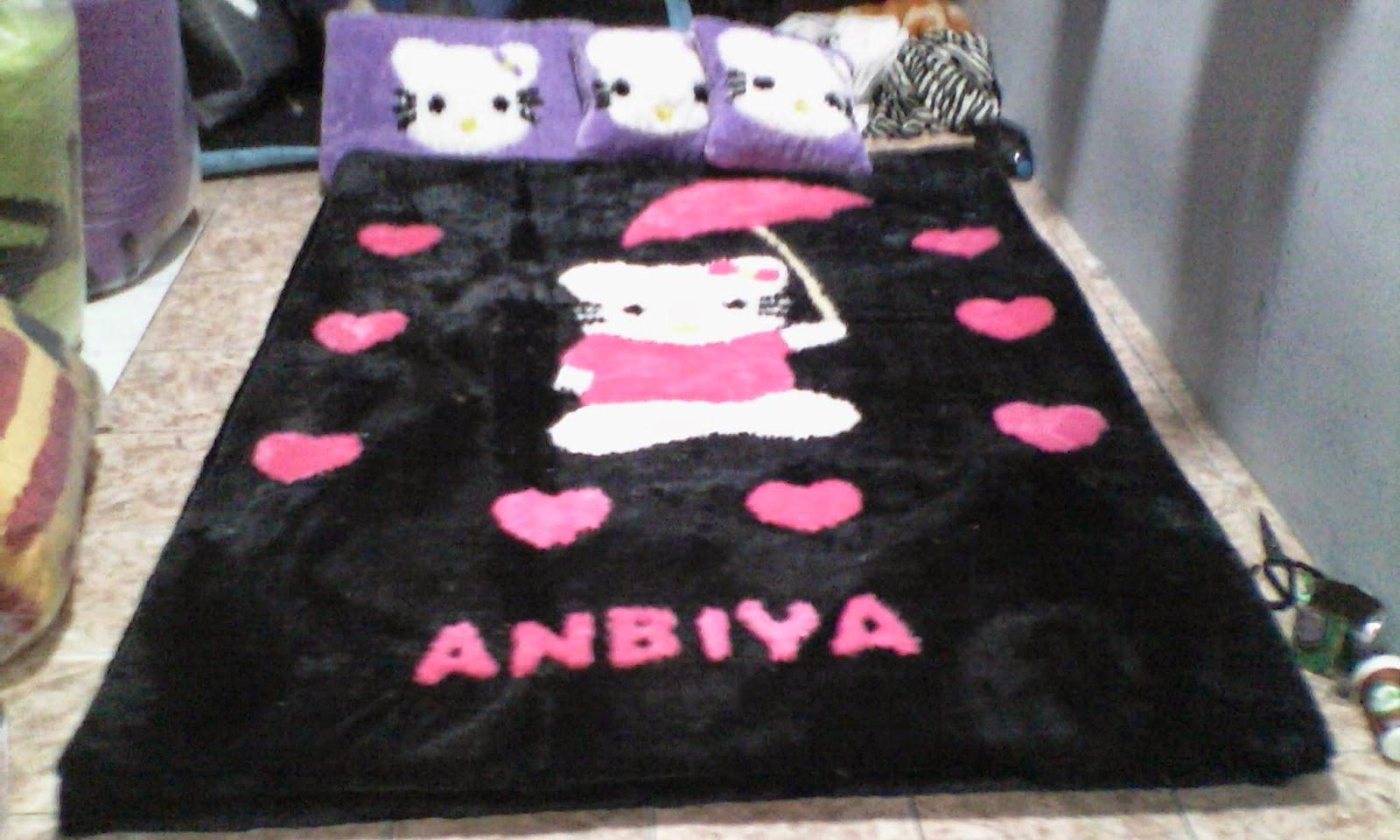 Kasur Karpet Karakter Hello Kitty