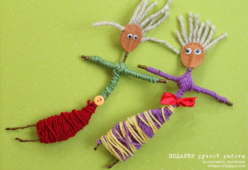 Куклы из прутьев своими руками