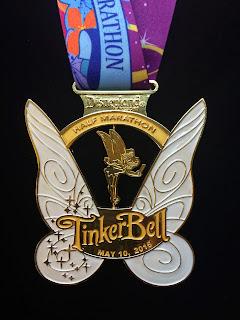 2015 Tinker Bell Half Marathon medal