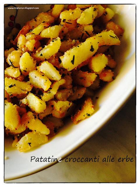 patatine croccanti alle erbe