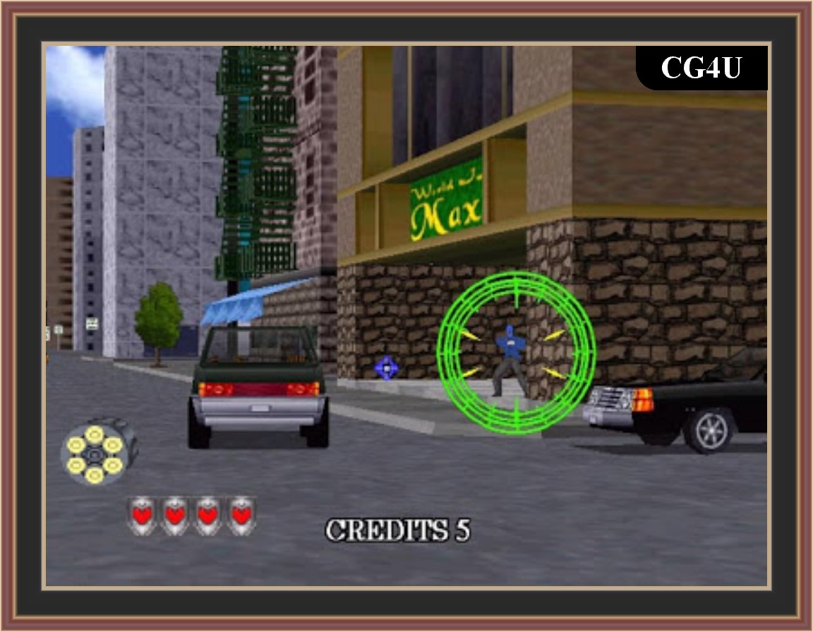 Virtua Cop 2 Game Screenshots