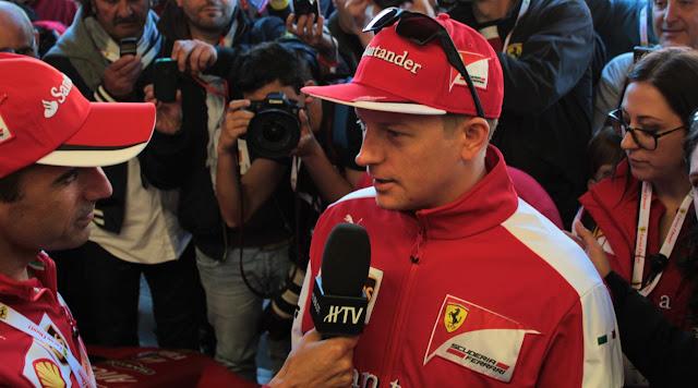Kimi Raikkonen Interview