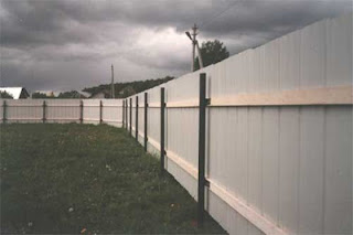 Забор из профлиста. Фото 16