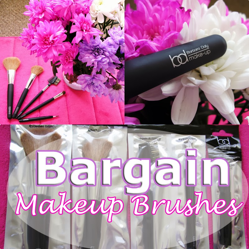 Barbara Daly Makeup Brushes from Tesco