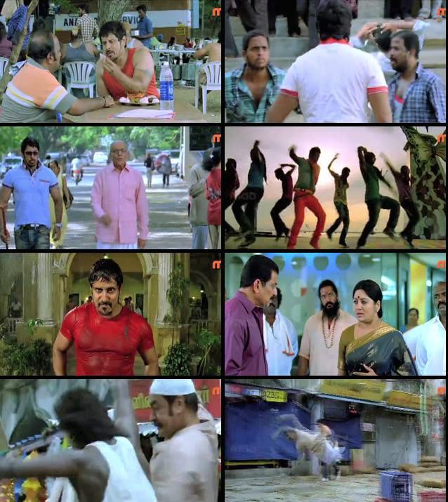 Rajapattai 2011 Hindi Dubbed 480p HDTV Rip