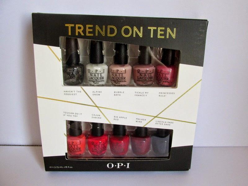 opi trend on ten set