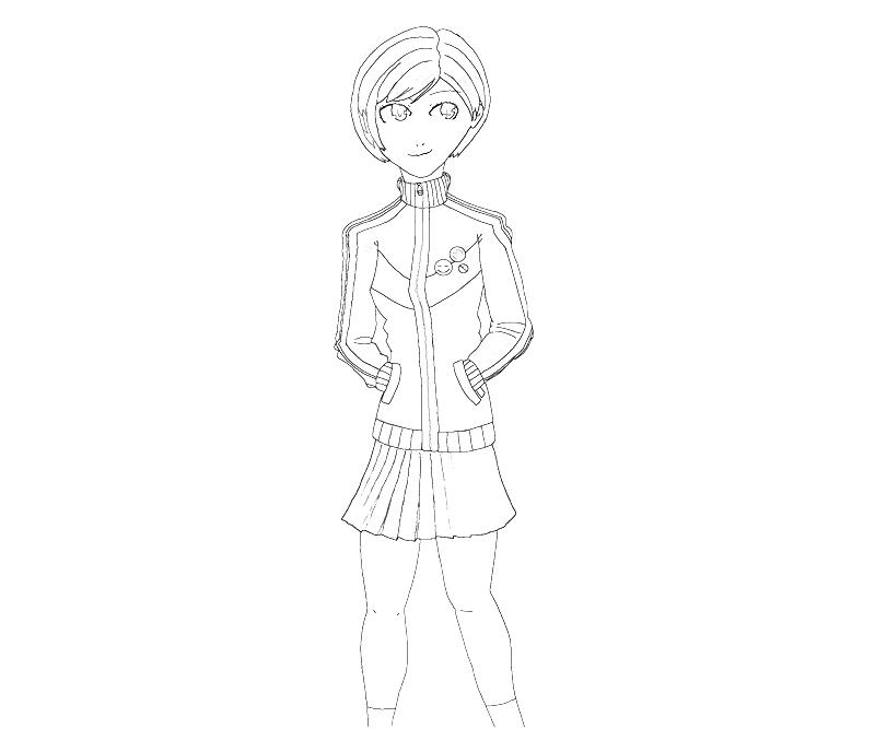 printable-chie-satonaka-cool-coloring-pages