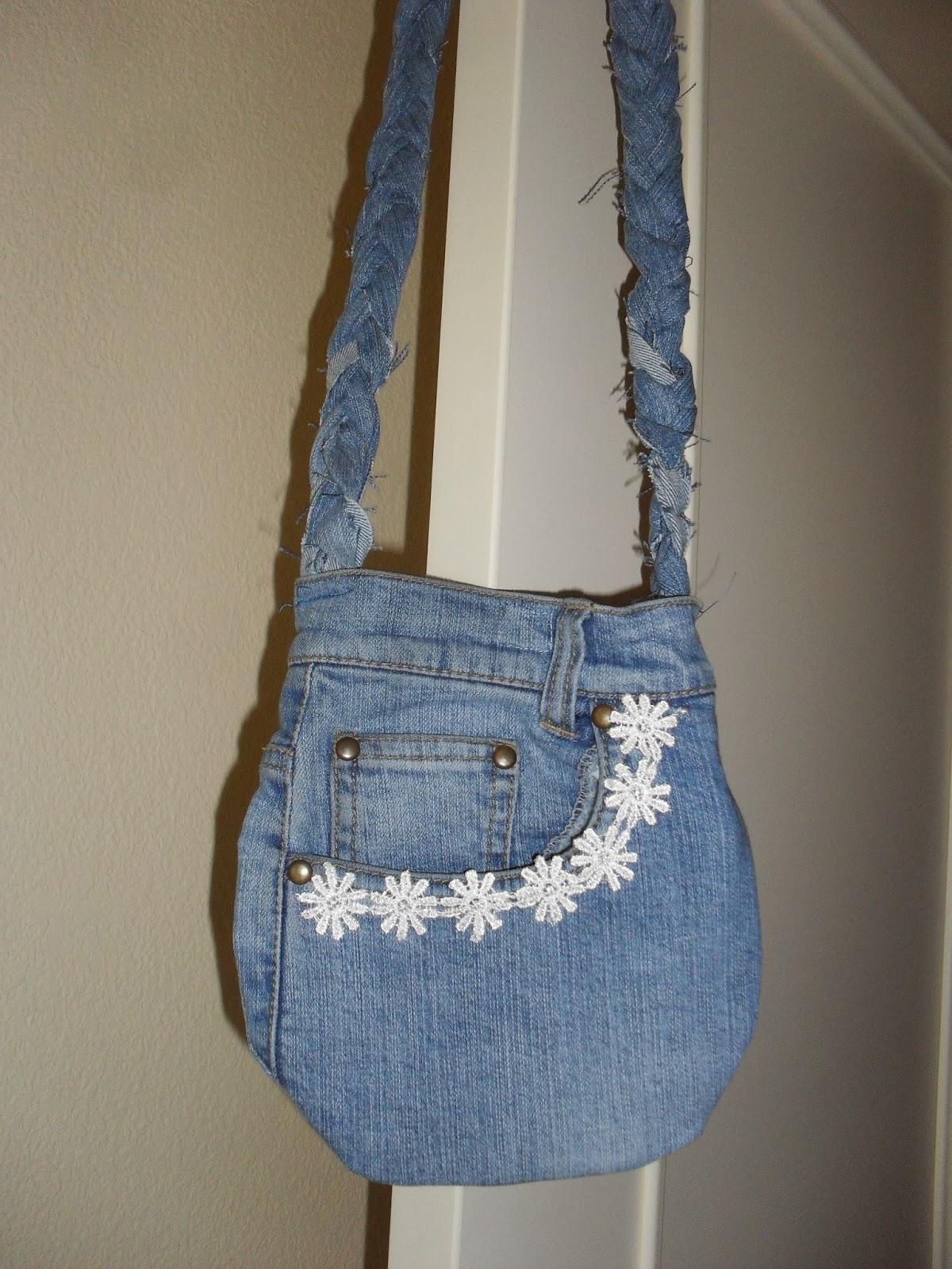 Jo qué bonito: Mini-bolso vaquero