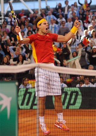 Rafa Nadal Copa Davis 2011
