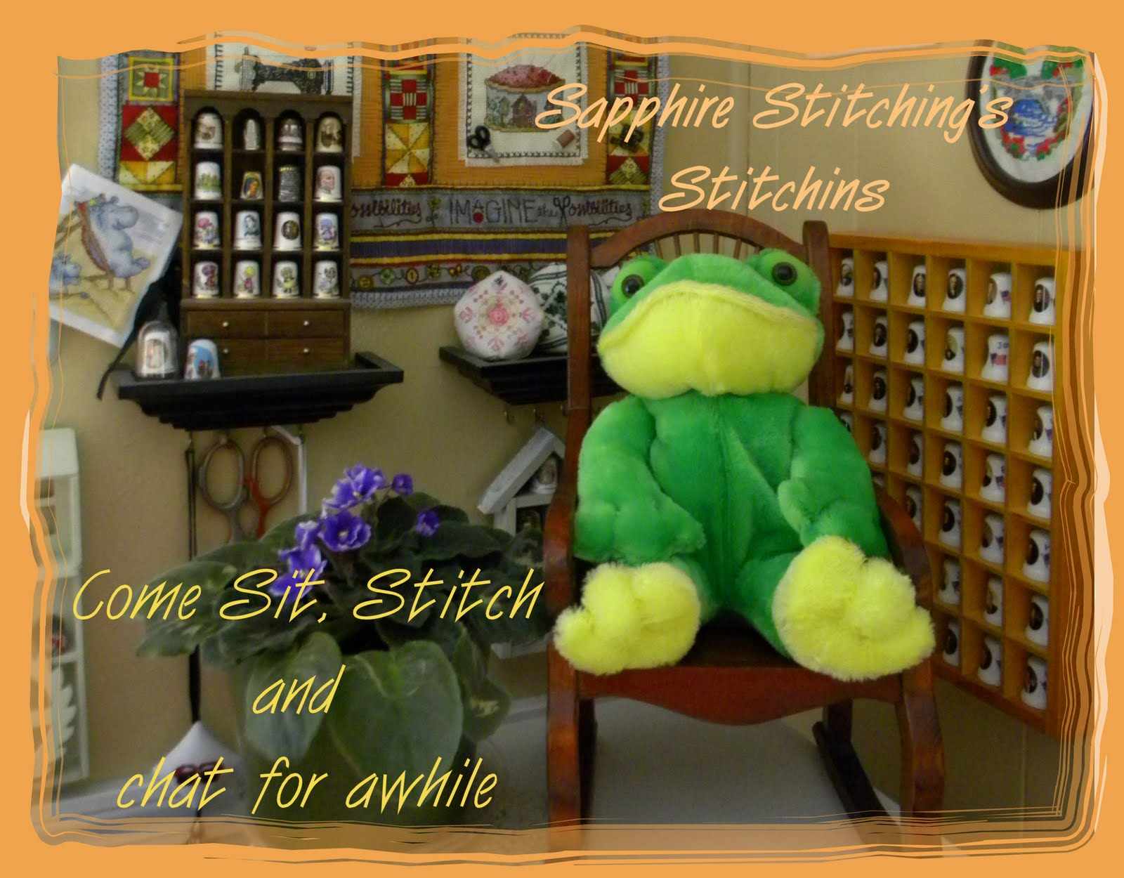 Sapphire Stitching's Stitchins