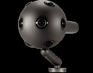 Review Harga Kamera Terbaru Nokia Ozo Action Camera 360 derajat