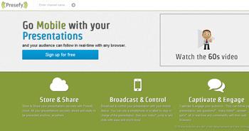 almacena y comparte tus presentaciones con Presefy - www.dominioblogger.com